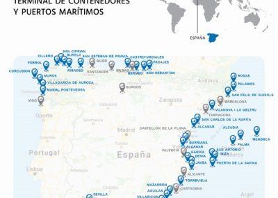 Puertos Marítimos y Contenedores España- Spain Maritime Ports and Container