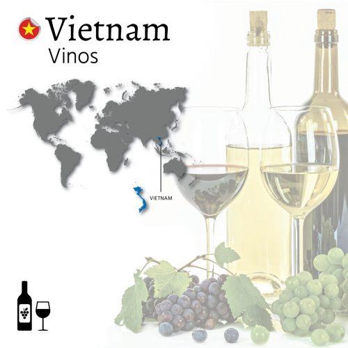 exportar vinos a Asia. Exportar vinos a Vietnam. Exportación de vino tinto y blanco