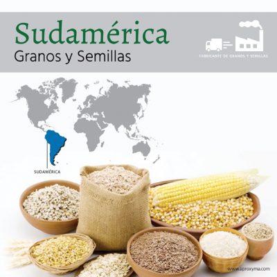Productores y fabricantes de granos y semillas de Sudamérica: semillas de Perú, Colombia, Ecuador, Brasil