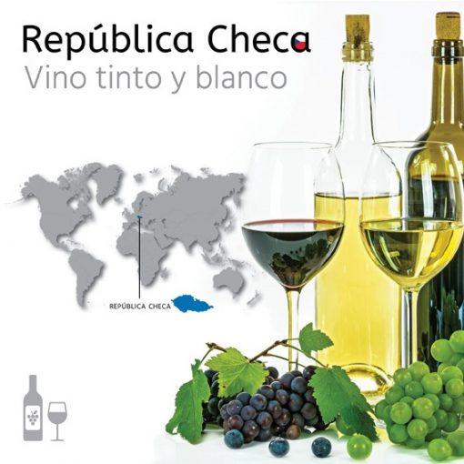 Importadores de vino blanco y tinto de República Checa. Exportar vinos