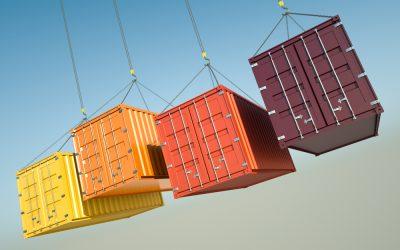 Qué contenedores necesitas para exportar fruta