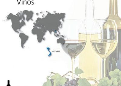 Distribuidor-Vino en Vietnam