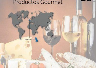 Importador gourmet-Reino-Unido