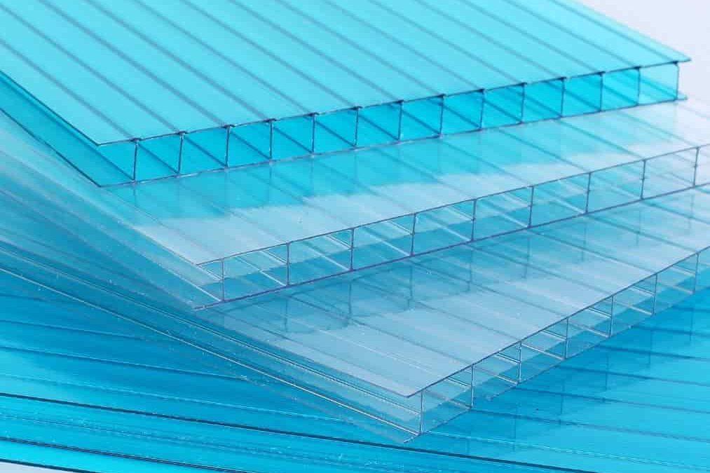 placas de policarbonato alveolar